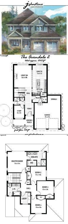 The Avondale 2 schematics & painting